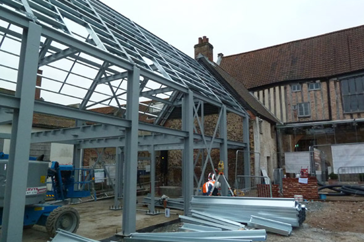 Writers Centre Steel Frame