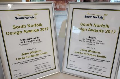 South Norfolk Design Awards 2017